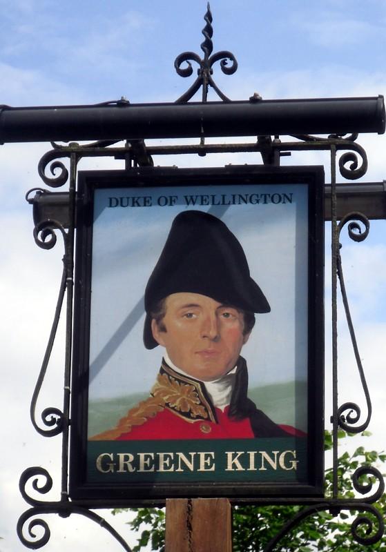 duke of wellington brandon sign
