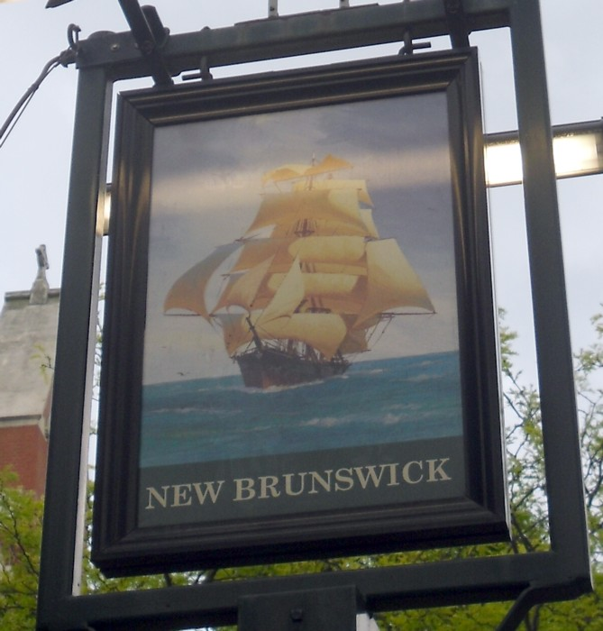 new brunswick sign