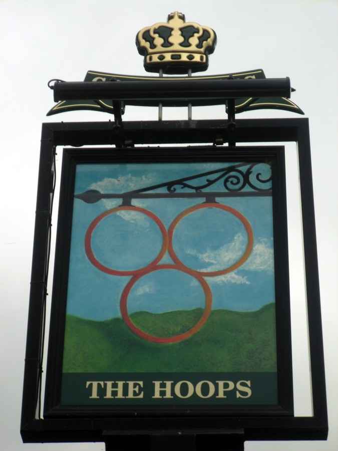 the hoops barton sign