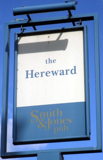 hereward ely sign