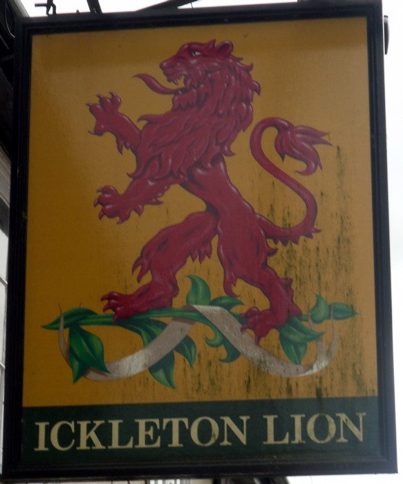 ickleton lion sign
