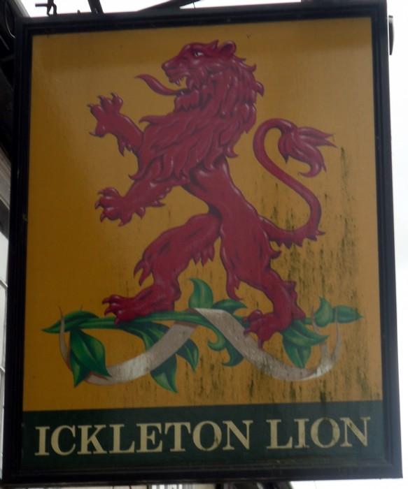 ickleton lion sign
