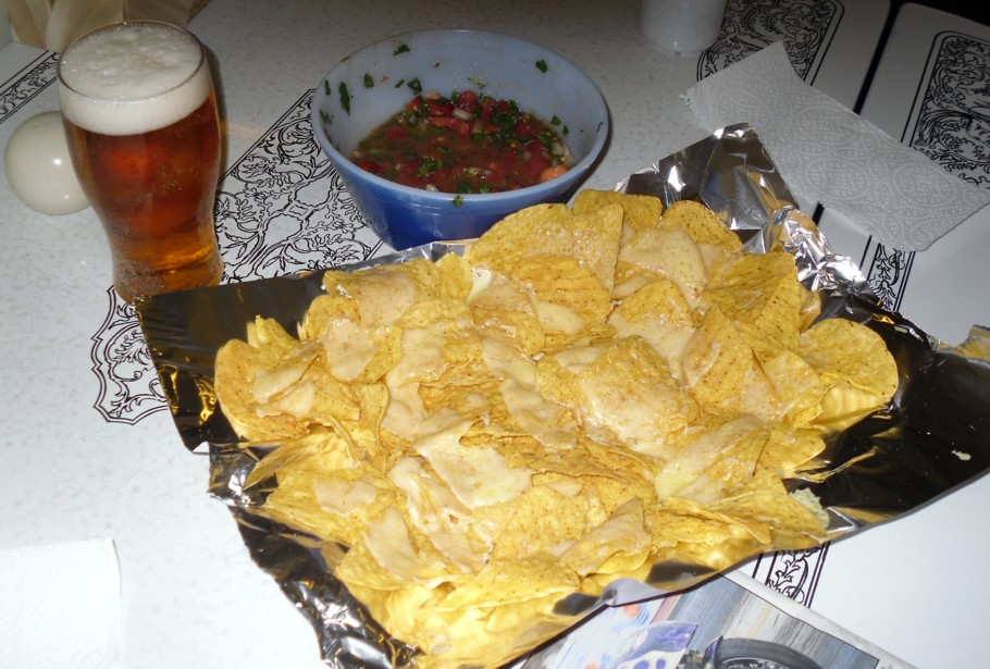 mmmm beer chips and salsa