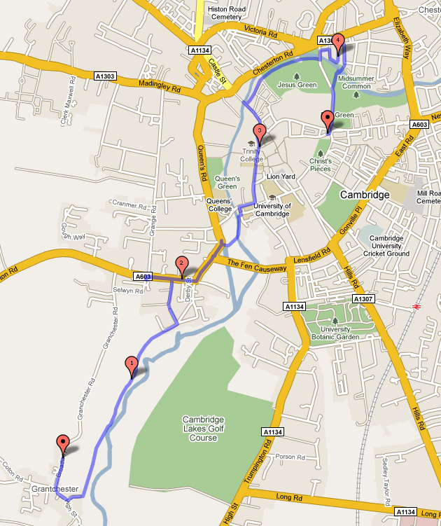 map linked to Gmap for detail