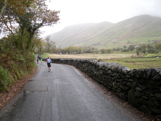 Snowdon Marathon north of rhyd ddu