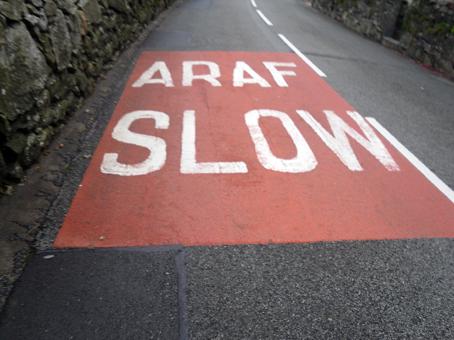 Snowdon Marathon slow araf