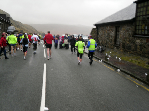 Snowdon Marathon topped first hill