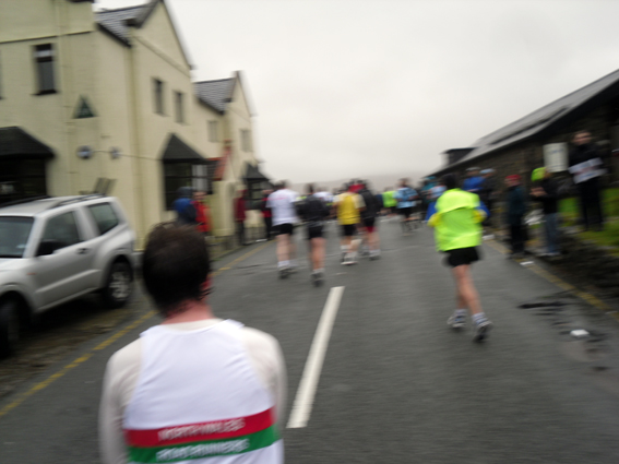 Snowdon Marathon topping first hill