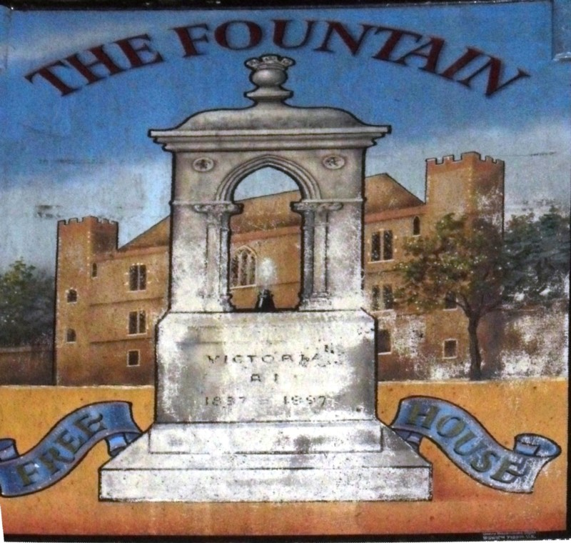 fountain ely sign