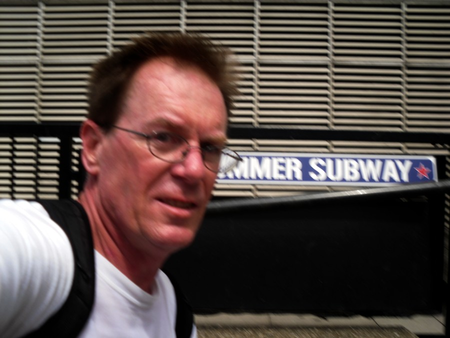 11:58 My big head notwithstanding, this is the Joe Strummer Subway
