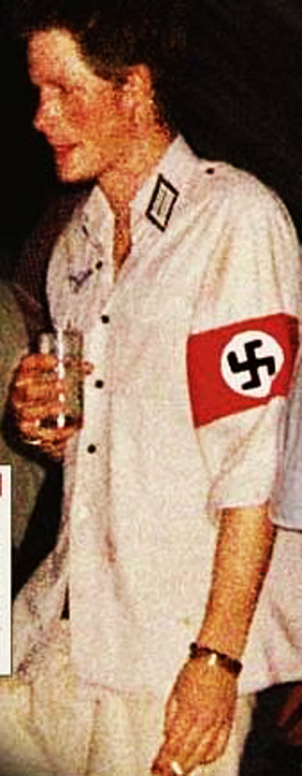 prince harry nazi photo. players must Sieg Heil.
