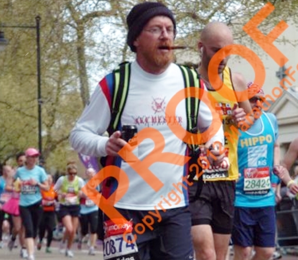 London Marathon last mile