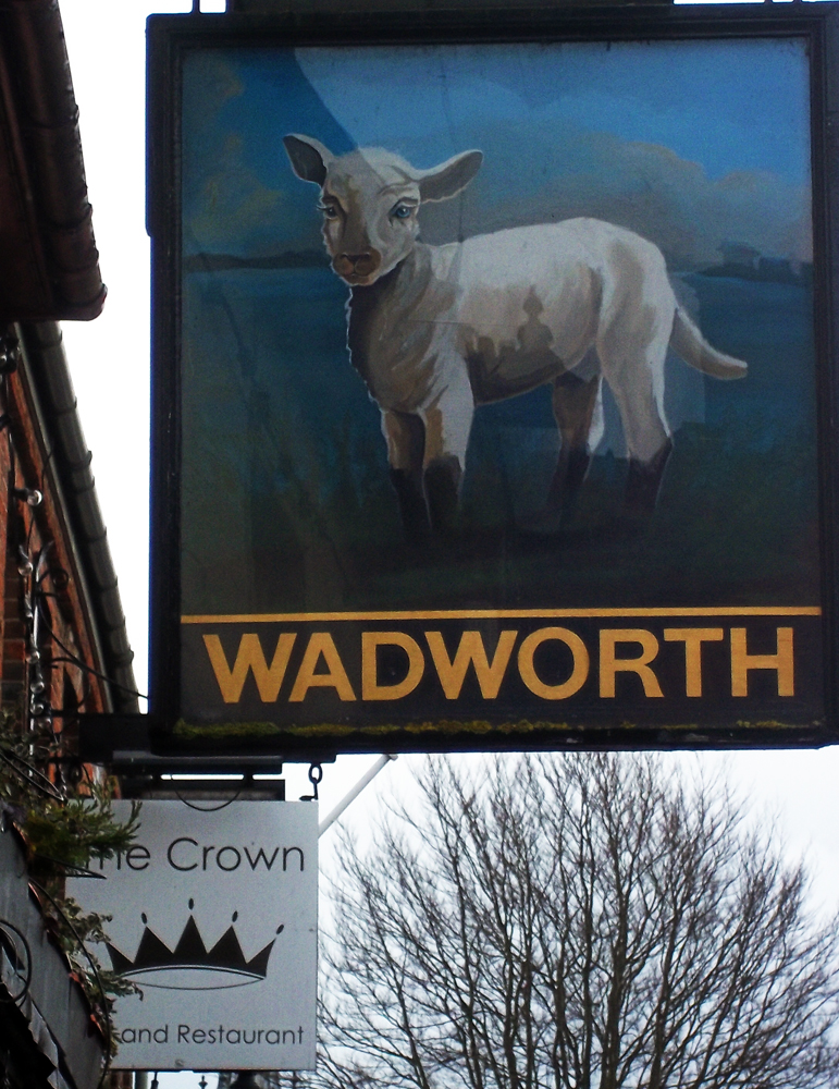 lamb inn marlborough sign