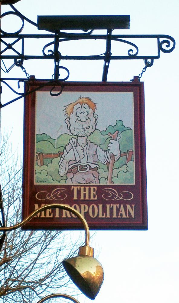 metropolitan bath sign