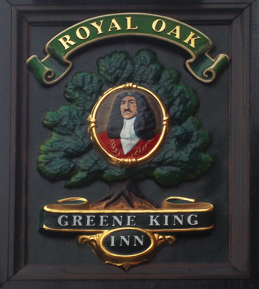 royal oak marlborough sign