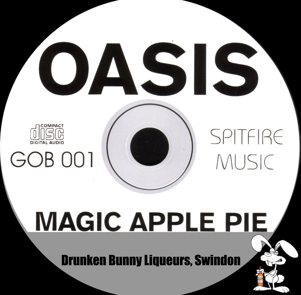 Oasis Magic Apple Pie label