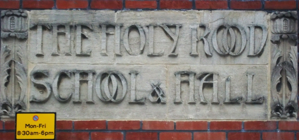 2013-02-21 holy rood school sign