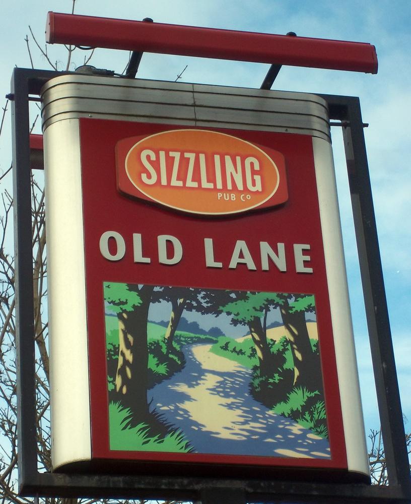 old lane chippenham sign