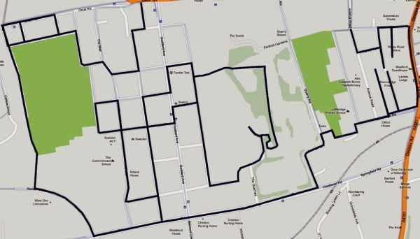 2013-03-29 good friday run map