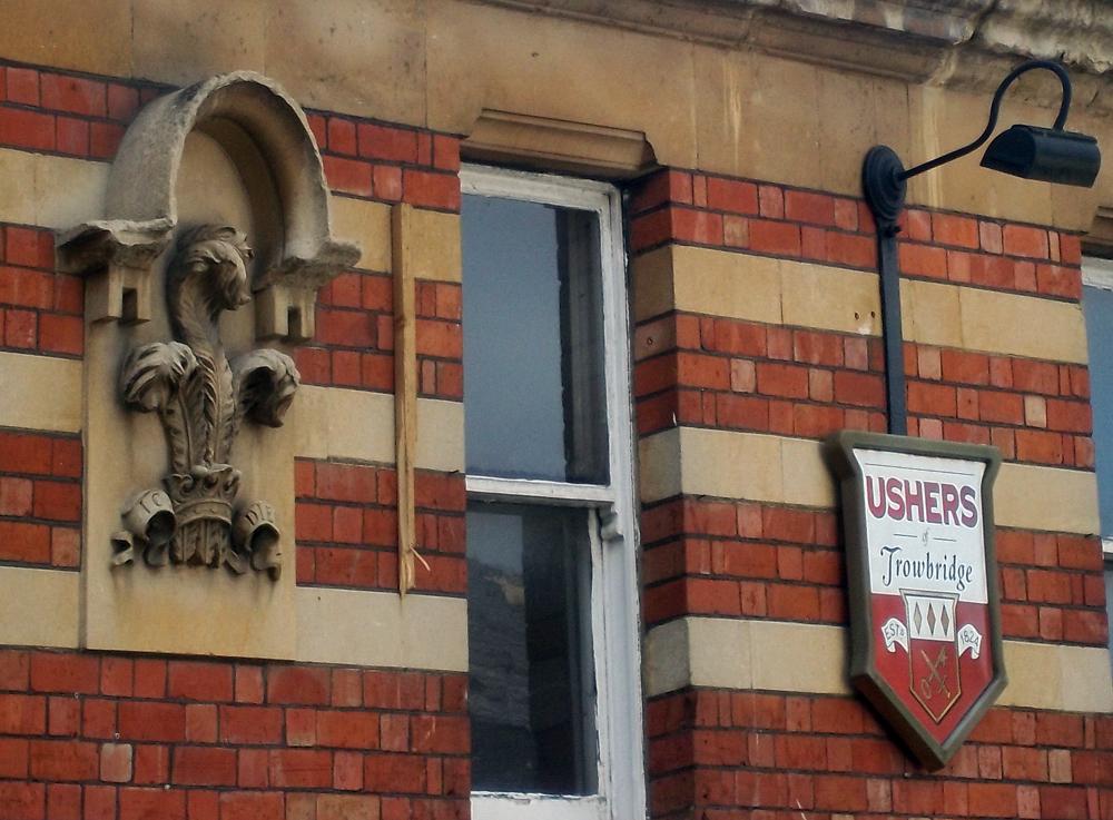 prince of wales swindon signage