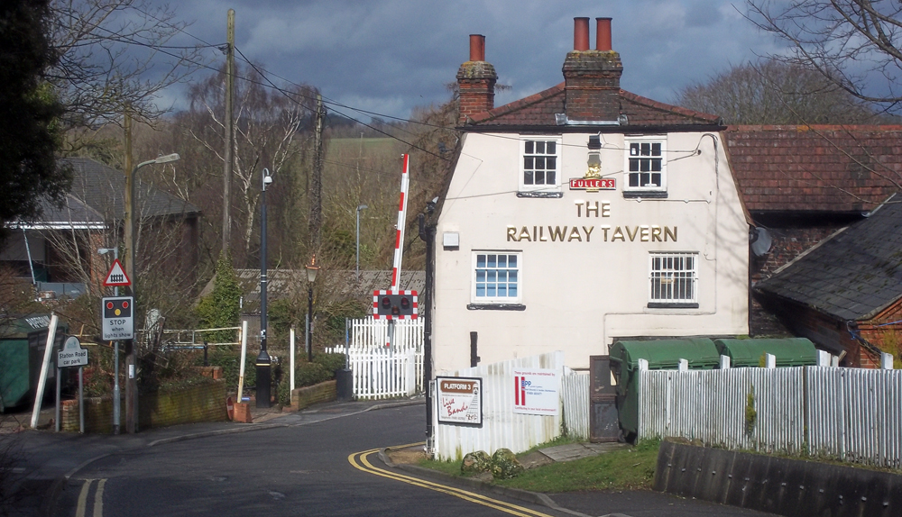 railway tavern hungerford