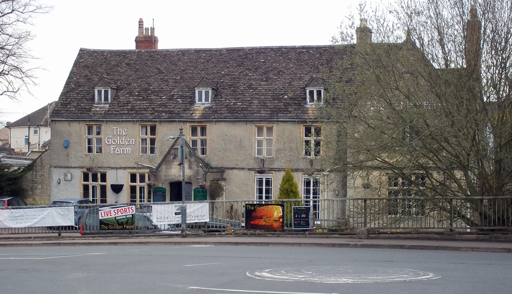 golden farm inn cirencester