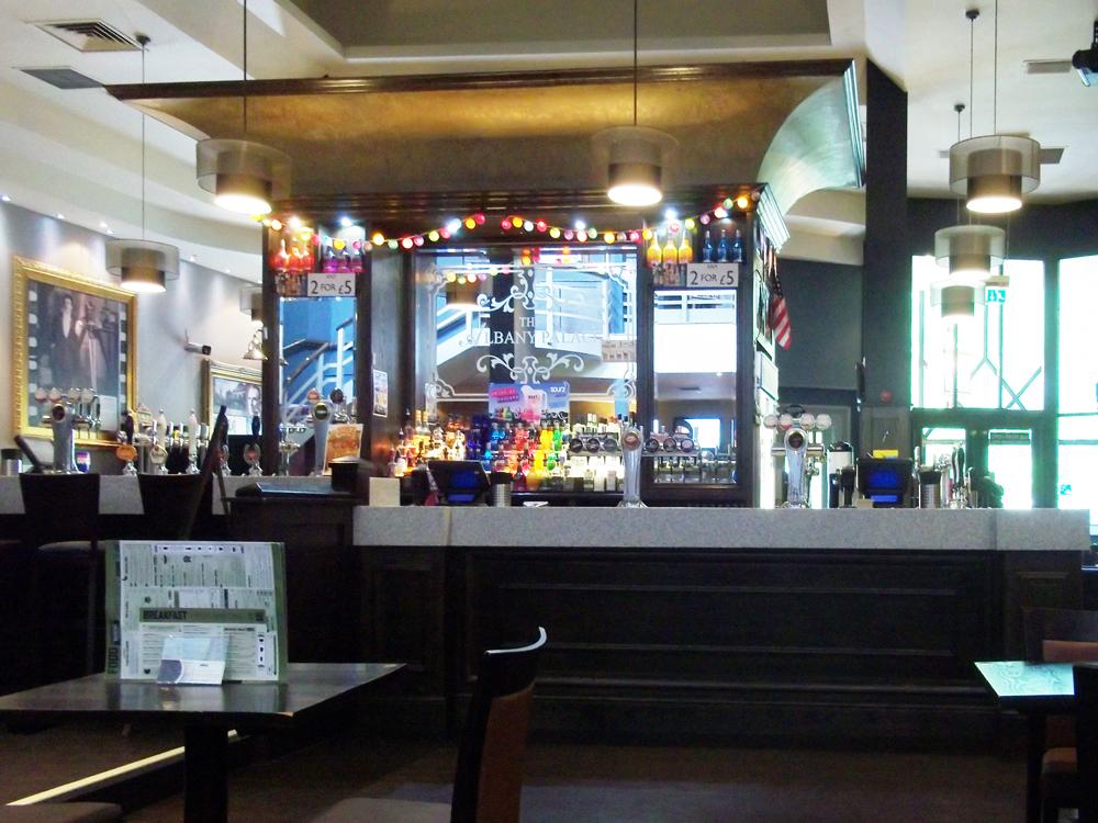 albany palace trowbridge bar