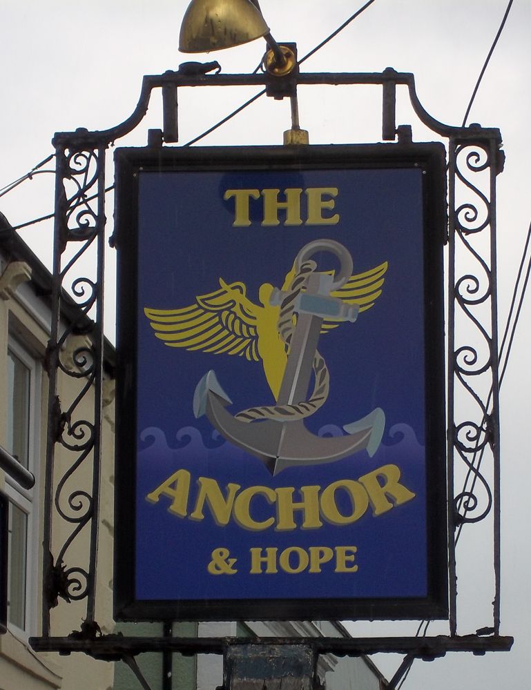 anchor and hope trowbridge sign