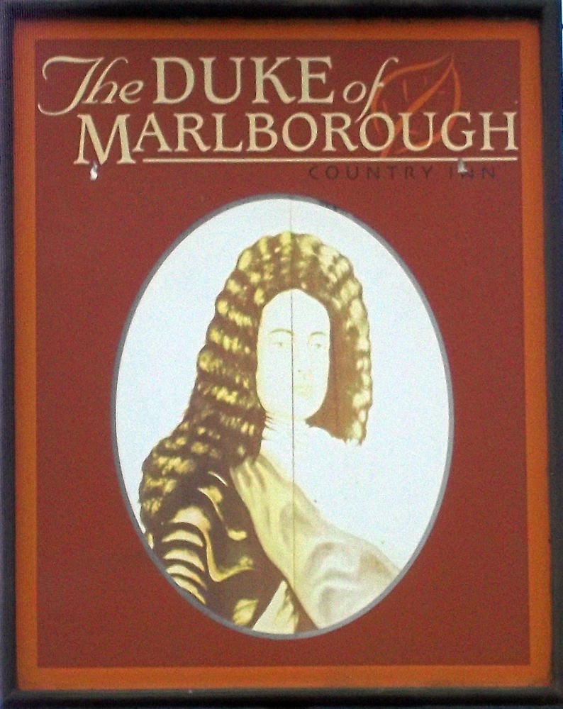 duke of marlborough woodleys sign