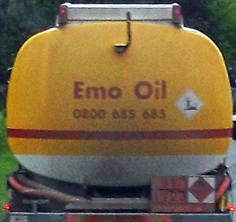 emo oil close-up