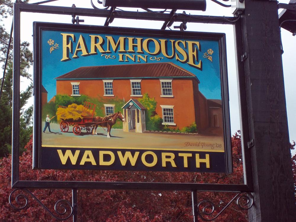 farmhouse inn southwick sign