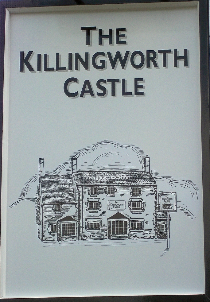 killingworth castle wootton sign