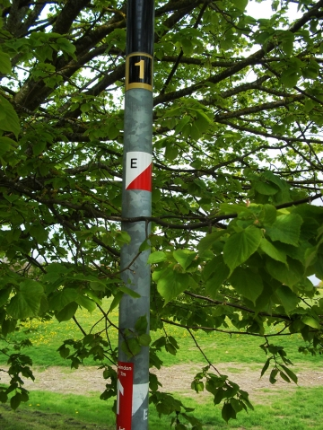 Swindon Orienteering Control 07E