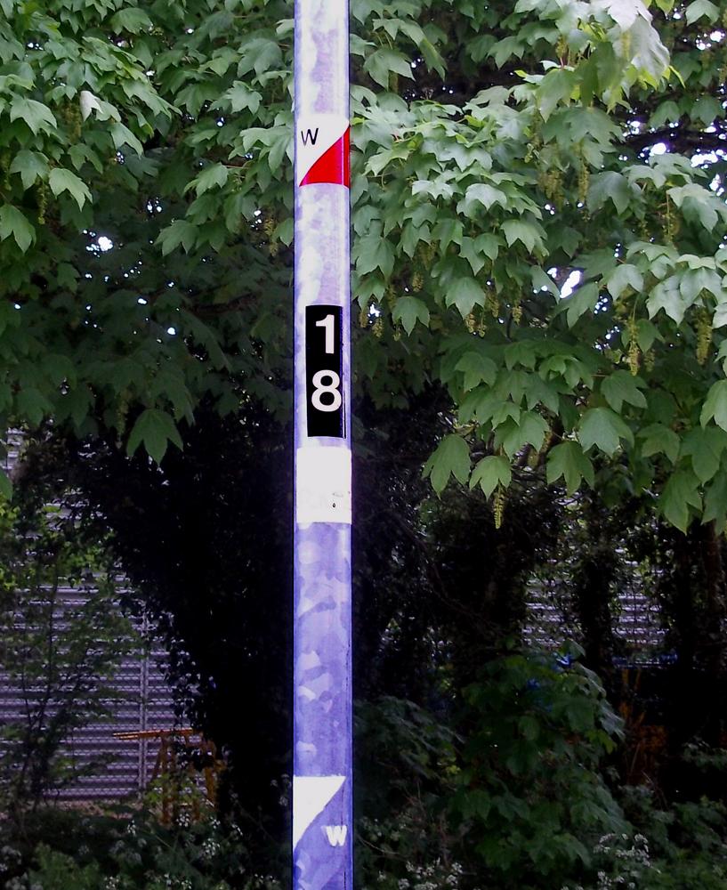 Swindon Orienteering Control 11W
