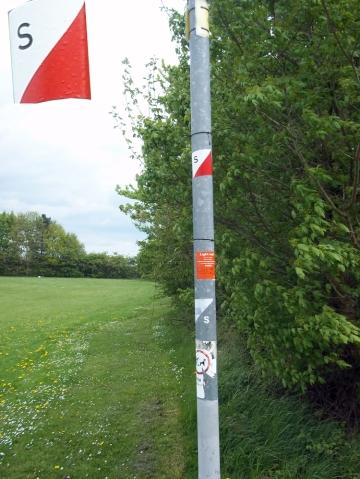 Swindon Orienteering Control 20S