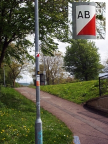Swindon Orienteering Control 28AB
