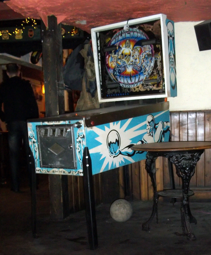 white swan trowbridge pinball and football