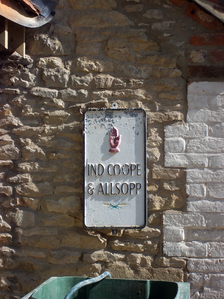 plough great haseley sign