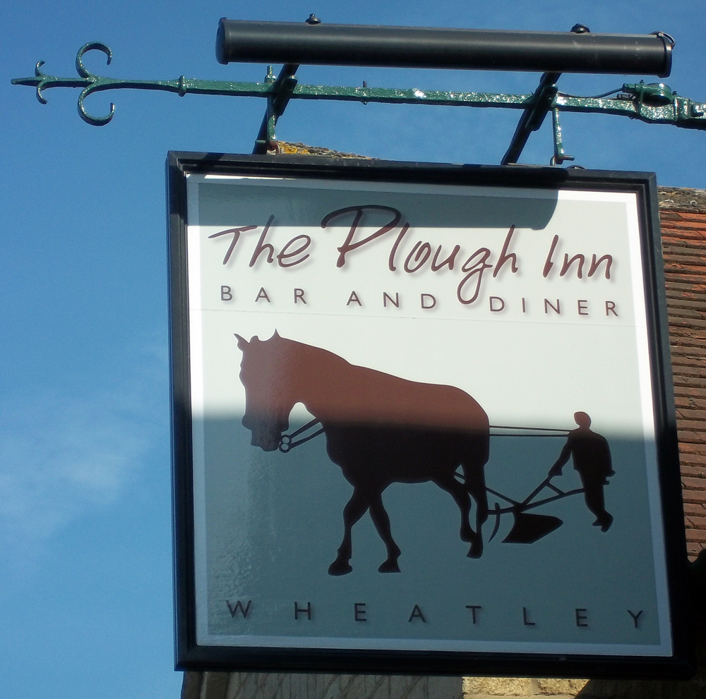 plough wheatley sign