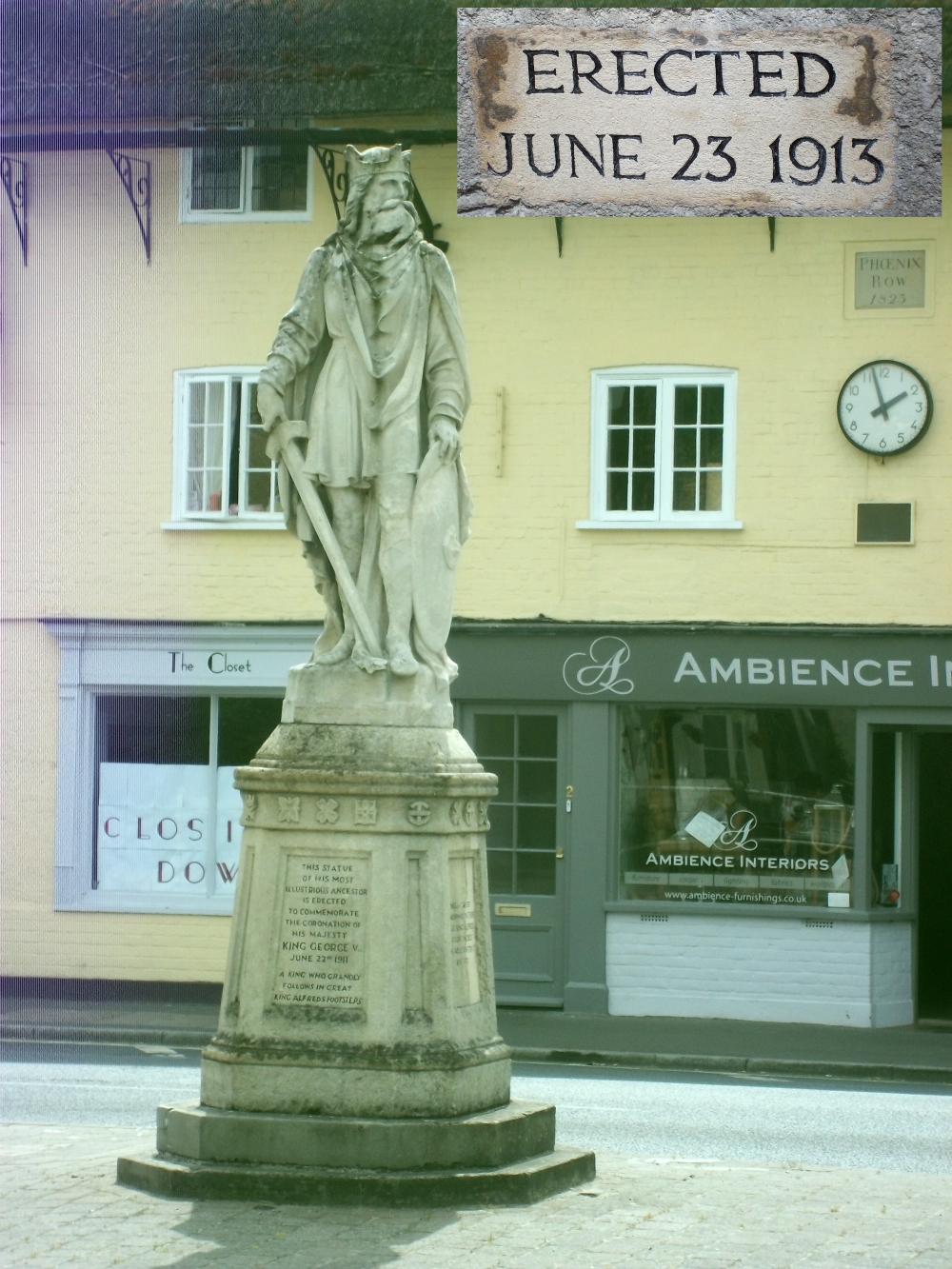 alfred the great pewsey