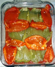 chiles rellenos 05 chiles layer
