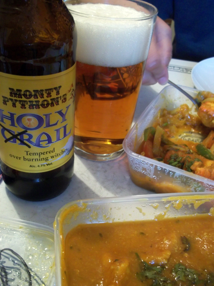 monty python's holy ail and curry