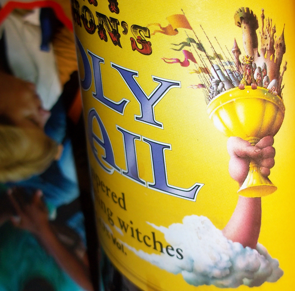 monty python's holy ail detail