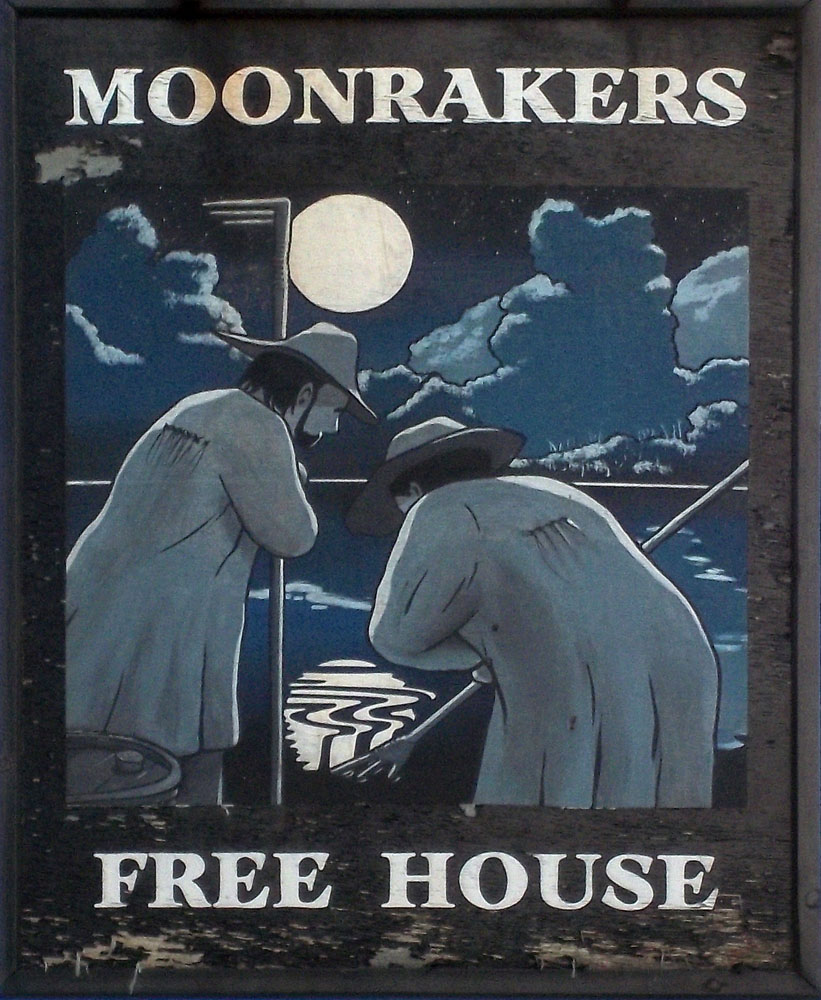 moonrakers pewsey sign