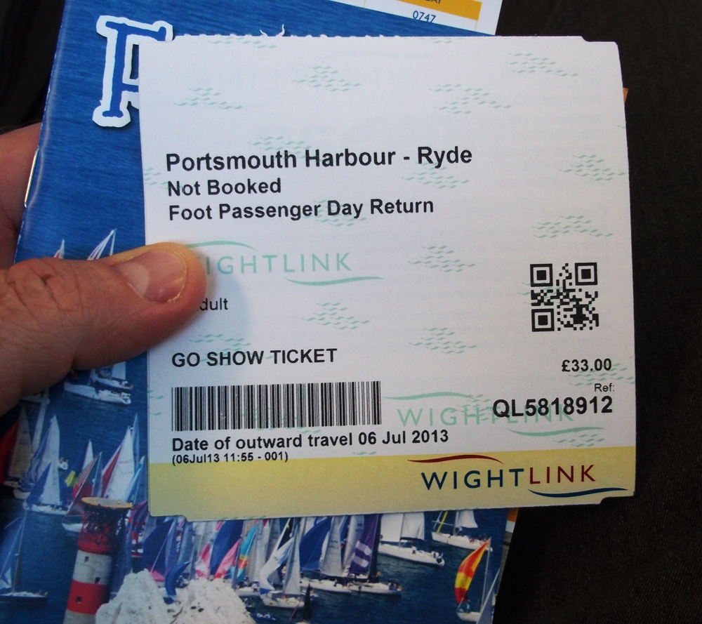 ticket to ryde (for 2)