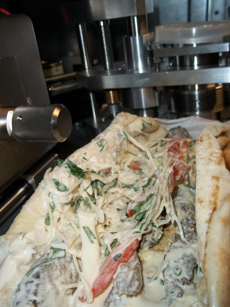 LB Lebanese Cuisine Oxford kebab