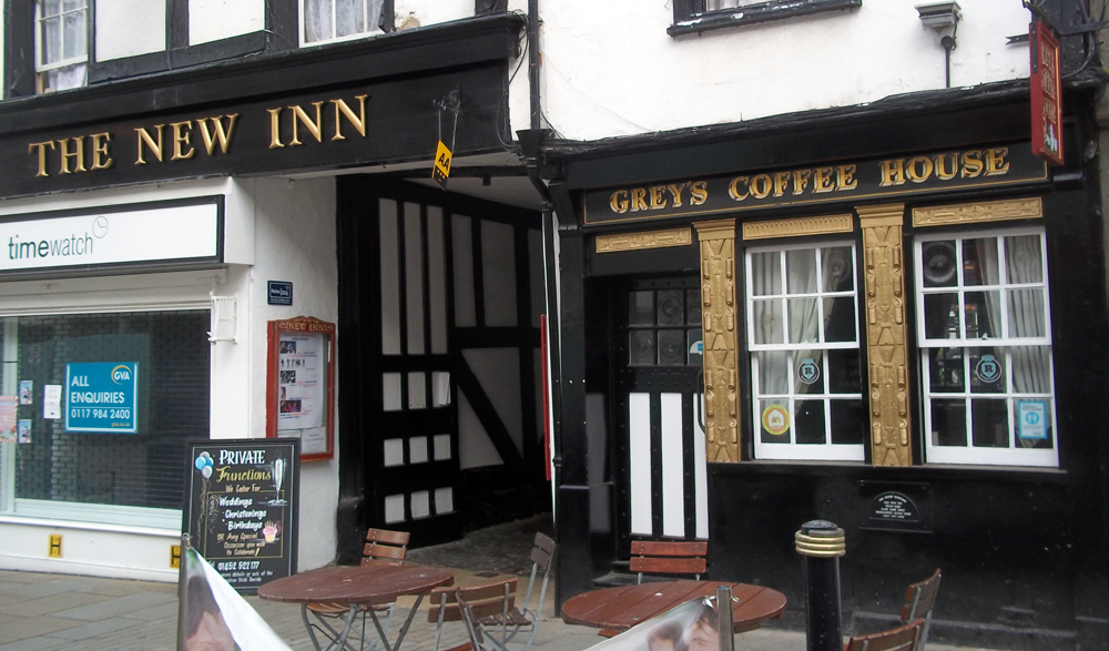 new inn gloucester street entrance
