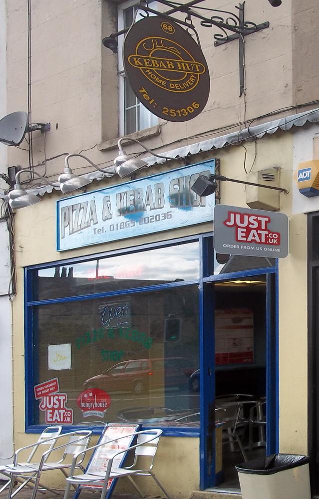 pizza and kebab hut oxford