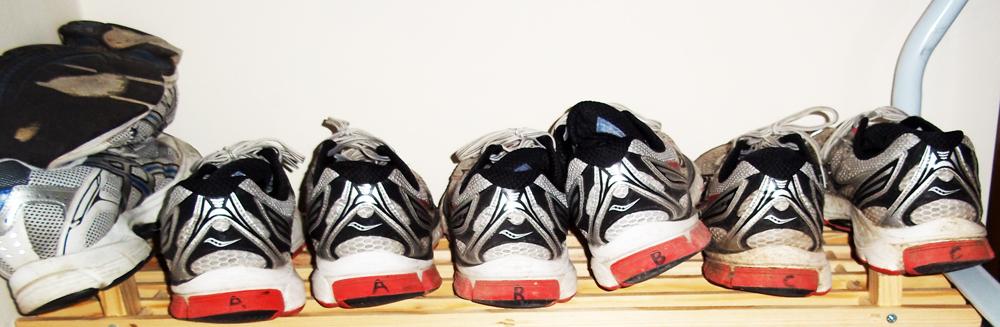 running shoe rota