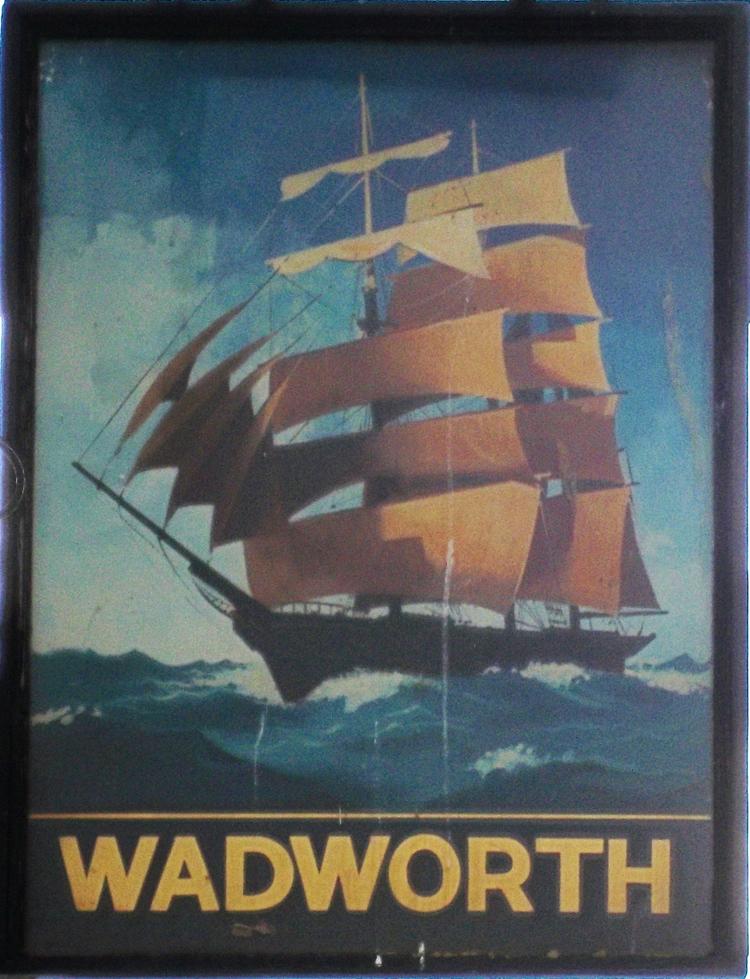 tall ship gloucester sign
